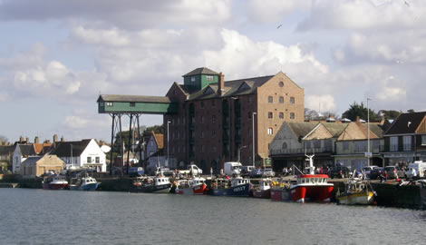 Wells-next-the-Sea - harbour